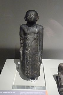 Iymeru (son of Ankhu) ancient Egyptian vizier