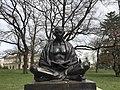 Statue of Mohandas K. Gandhi in Geneva - 4.JPG