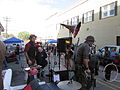 Steampunk Makers Fair Lafayette 2013 VineSt Stage Mikecheck.JPG