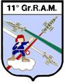 Stemma 11° Gruppo Radar Aeronautica Militare.PNG