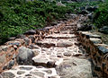 Steps leading to Gurubhaktulakonda Monastery.jpg