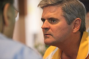 Steve Case, founder of AOL at Kinnernet in Isr...