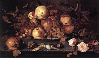 Still-life with Dish of Fruits