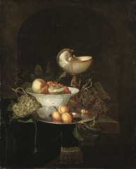Still-life with Fruit and Nautilus Cup