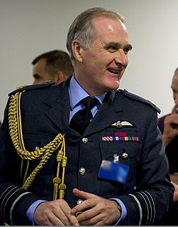 Jock Stirrup Retired senior Royal Air Force commander and now a Crossbench member of the House of Lords.