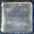 Stumbling block for Alfred Moses (Friedrichstrasse 40)