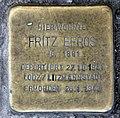Stolperstein Danziger Str 28 (Prenz) Fritz Efros.jpg
