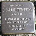 Stolperstein Delmenhorst - Sigmund ter Berg (1930).JPG