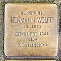 Stolperstein Hermann Wolff, Venloer Straße 268, Köln-2051.jpg