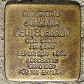 Stolperstein Johanna Deutschkron in Beckum.nnw.jpg