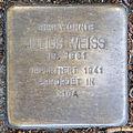 Stolperstein Julius Weiss by 2eight 3SC1411.jpg