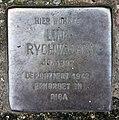 Stolperstein Sächsische Str 48 (Wilmd) Lina Rychwalski.jpg