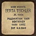 Stolperstein für Berta Teichler (Cottbus).jpg