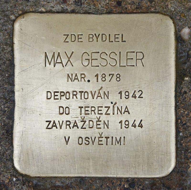 Stolperstein für Max Gessler.JPG