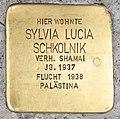 Stolperstein für Sylvia Lucia Schkolnik 2018 (Graz).jpg