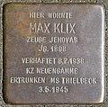 Stolpersteine Köln, Max Klix (Humboldtstraße 22).jpg
