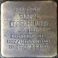 Stolpersteine Köln, Ruben Oppenheimer (Severinstrasse 199).jpg