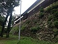 Stone wall of Tamon-yagura of Fukuoka Castle 2.JPG