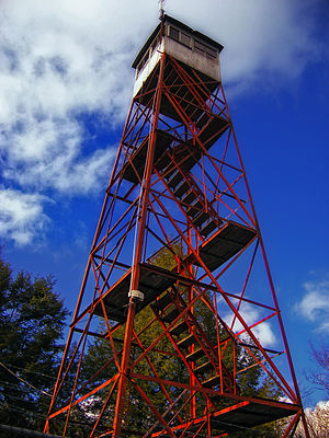 Hickory Run State Park - Image: Stony Point Fire Tower