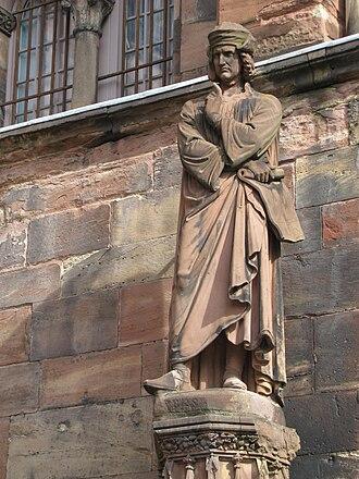 Erwin von Steinbach - Erwin von Steinbach by Philippe Grass