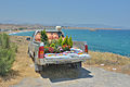 Street vendor on pickup truck near Kokkini Hani Crete.jpg