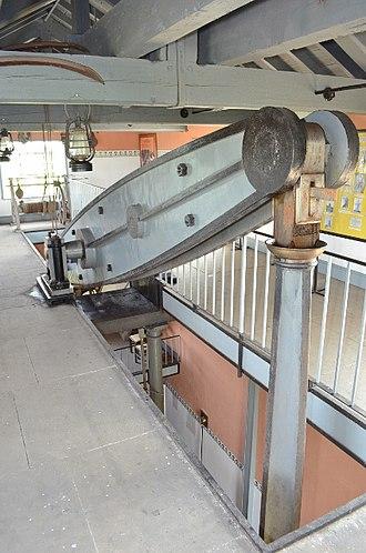 Stretham Old Engine - Image: Stretham Engine Beam Engine geograph.org.uk 3079273