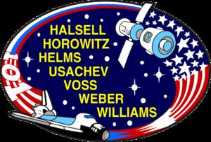 Jeffrey Williams (astronaut) - Image: Sts 101 patch