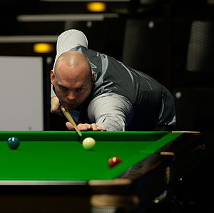 Stuart Bingham - Stuart Bingham at the 2015 German Masters