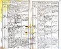 Subačiaus RKB 1832-1838 krikšto metrikų knyga 035.jpg
