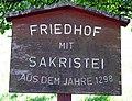 Suggental Friedhof, Schild.jpg