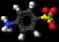 Sulfanilic acid zwitterion ball.png