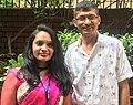 Suman Pokhrel and Kanchana Prayakantha (31482763958).jpg