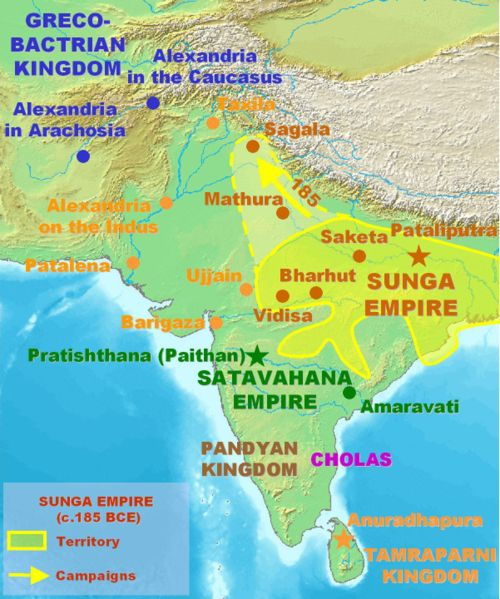 magadha dynasty Among the sixteen mahajanapadas, magadha rose to prominence under a  number of dynasties that peaked with the reign.
