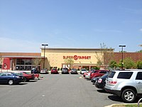 ... of a typical Super Target in Northlake Mall Charlotte, North Carolina