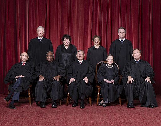 Supreme Court of the United States - Roberts Court 2018