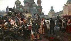 Vasily Surikov: Morning of the Execution of the Streltsy
