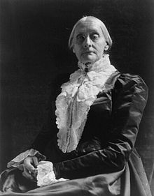 Description de l'image  Susan B. Anthony by Frances Benjamin Johnston.jpg.