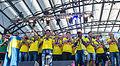 Sweden national under-21 football team celebrates in June 2015-4-2.jpg