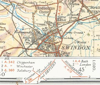 Swindon - Swindon in 1933