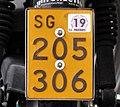Swiss moped plate SG.jpg