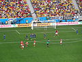 Switzerland and Ecuador match at the FIFA World Cup 2014-06-15 DSC06427 (14429204872).jpg