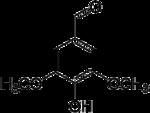 Strukturformel von Syringaldehyd