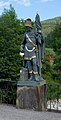 Töpperbrücke, St. Florian statue.jpg