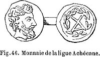 Fig. 46. Monnaie de la ligue Achéenne.