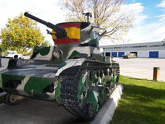 Verdeja - The Verdeja was heavily influenced by the Soviet T-26