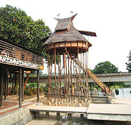 TMII Baluk House, West Kalimantan