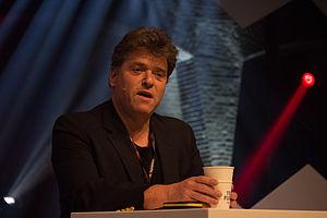 Andrew Keen - Andrew Keen speaking in Amsterdam in April 2015