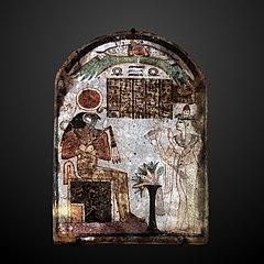 Tachemes worshiping Ra-N 3794