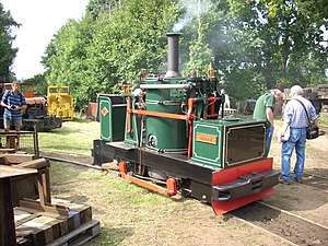 Alan Keef - Image: Taffy the Locomotive (built by Alan Keef Ltd), 2008