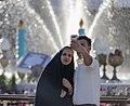 Tahvil-e Saal of Nowruz 2018 (1397 SH) in Shah Cheragh shrine, Shiraz (13961229400369636571784708787389 66871).jpg